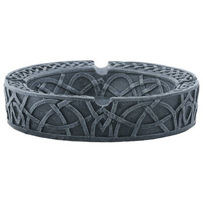Circular Celtic Ashtray
