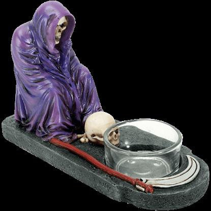Purple Reaper Votive Holder