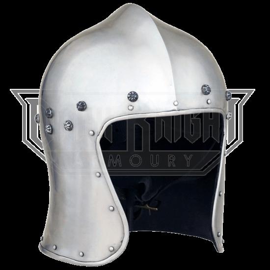 North Italian Barbute Helmet