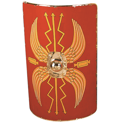 Linen Covered Roman Wooden Shield