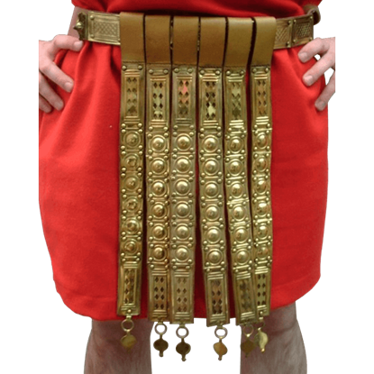 Roman Brass Decorative Belt with Apron