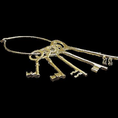 Brass Prison Keys