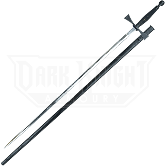Black Masonic Sword