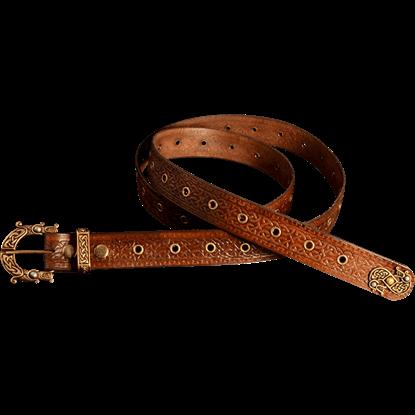Brown Celtic Belt
