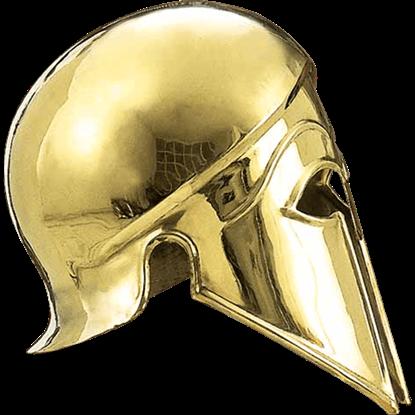 Brass Italo Corinthian Helmet