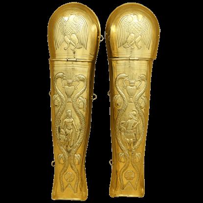 Brass Praetorian Greaves