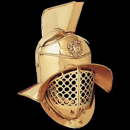 Gladiator Brass Arena Helmet