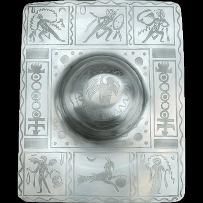 Decorative Square Roman Shield Boss