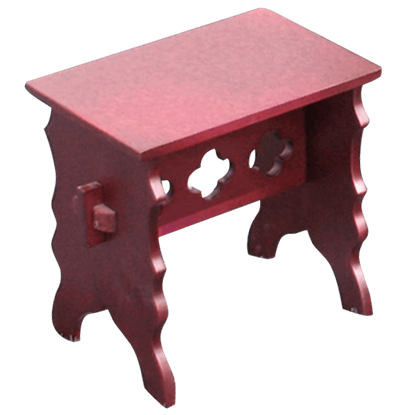Wooden Medieval Stool