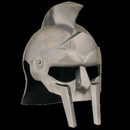 Crested Gladiator Helmet
