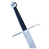 Black Prince Sword With Scabbard and Belt