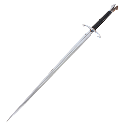 Black Death Sword With Scabbard