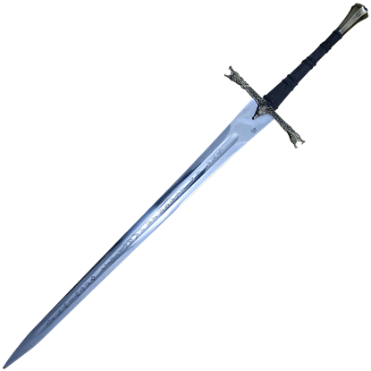 Eindride Lone Wolf Sword With Scabbard