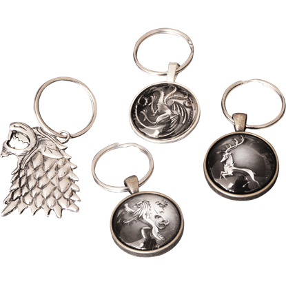 Game of Thrones House Sigil Keychain
