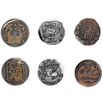 Greek Coin Set