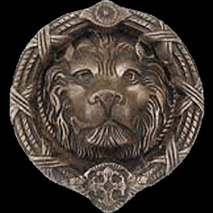 Castle Lion Door Knocker