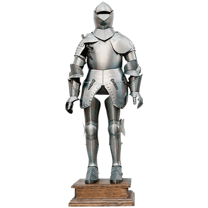 Deluxe Knights Suit Of Armor