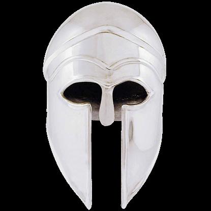 Steel Greek Corinthian Helm
