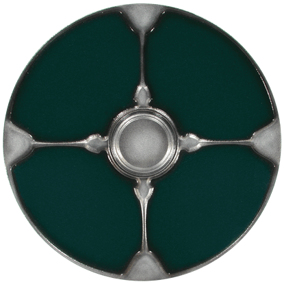Gaelic Green LARP Shield
