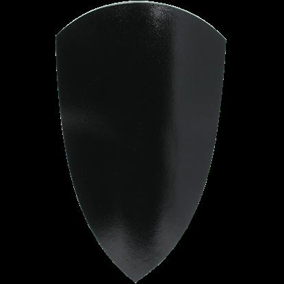 Medieval Squire LARP Shield in Black