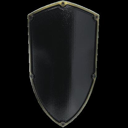 Medieval Reichsritter LARP Shield in Black