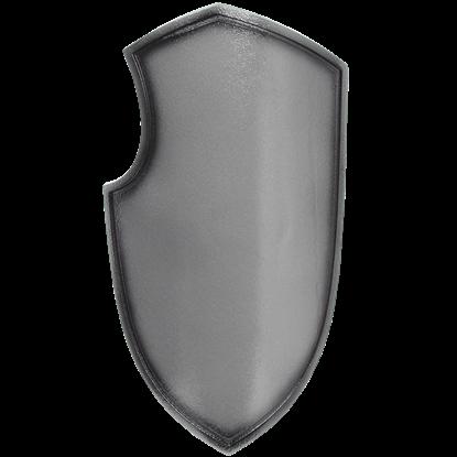 Medieval Joust LARP Shield in Silver