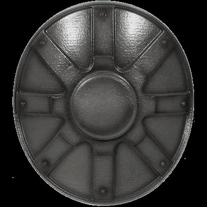 Mercenary LARP Metallic Buckler Shield