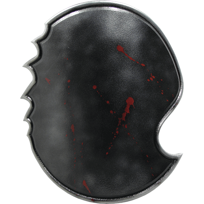 Bloody Chaos Round LARP Shield