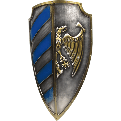 Blue Imperial Major LARP Shield