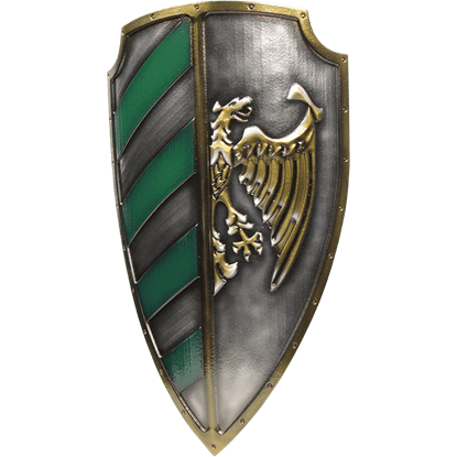 Green Imperial Major LARP Shield