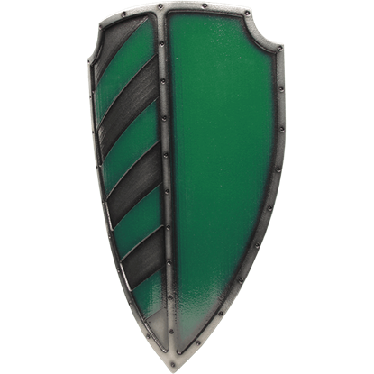 Green Imperial Sergeant LARP Shield