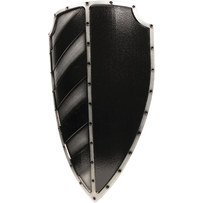 Black Imperial Sergeant LARP Shield