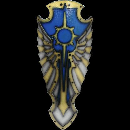 Blue Medieval Hochpaladin LARP Shield