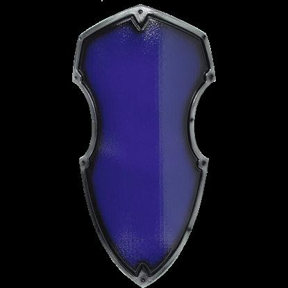 Blue Medieval Hochritter LARP Shield