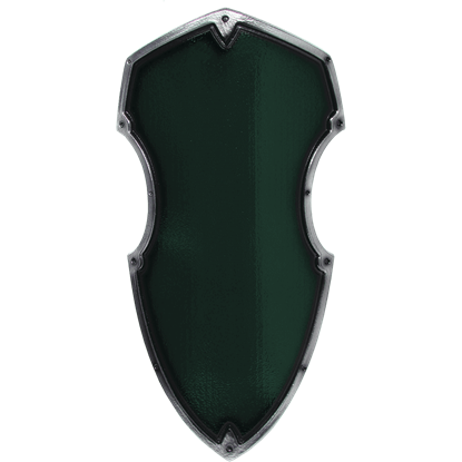 Green Medieval Hochritter LARP Shield
