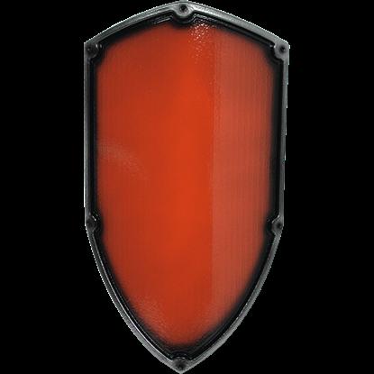 Red Medieval Reichsritter LARP Shield