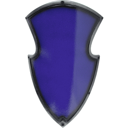 Blue Medieval Knight LARP Shield