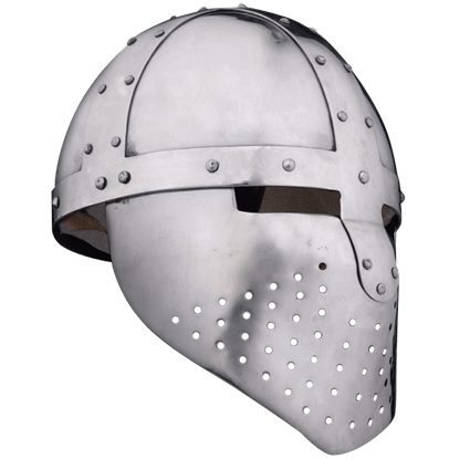 Spangenhelm with Face Guard