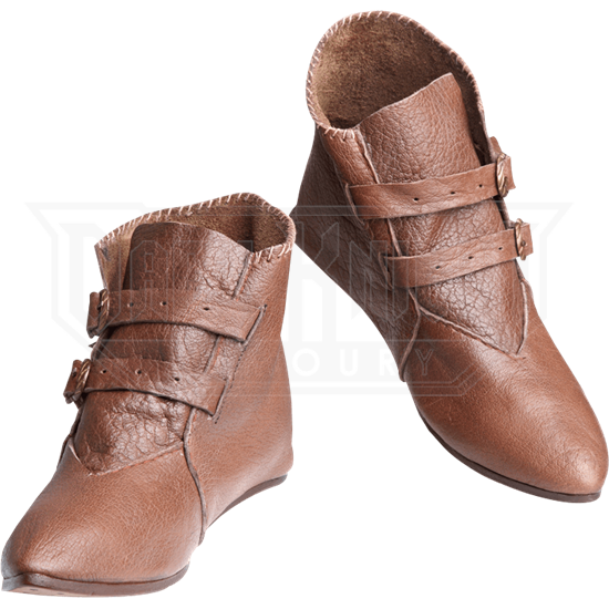 Buckled Low Boots