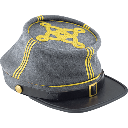 Confederate Infantry Officer's Kepi