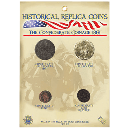 Confederate Coinage Set