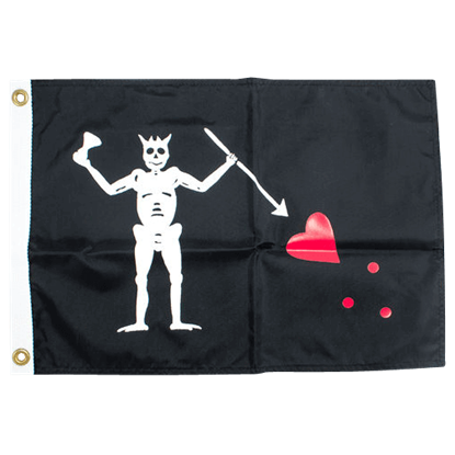 Blackbeard Pirate Flag