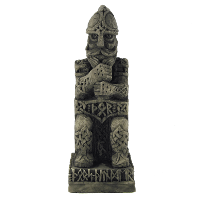 Sitting Norse God Thor Statue