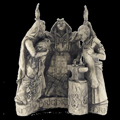 Celtic Brigid Statue