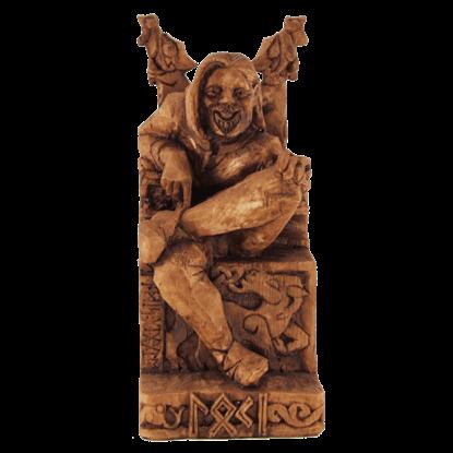 Seated Loki Statue