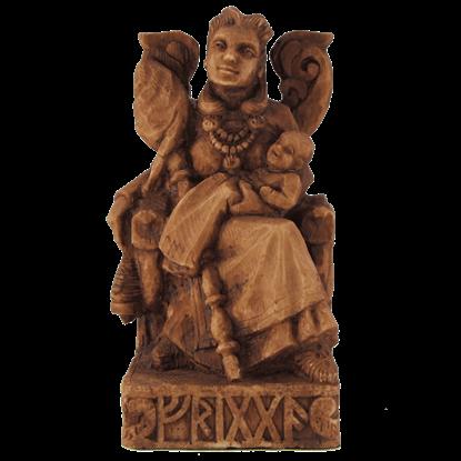 Seated Frigga Statue