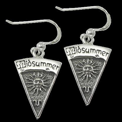 Silver Midsummer Earrings