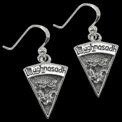 Silver Lughnasadh Earrings