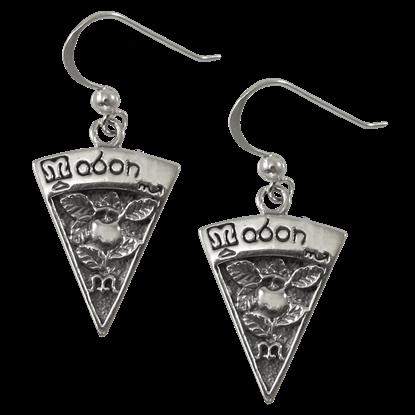 Silver Mabon Earrings