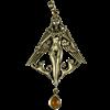 Bronze Freya Pendant with Gem
